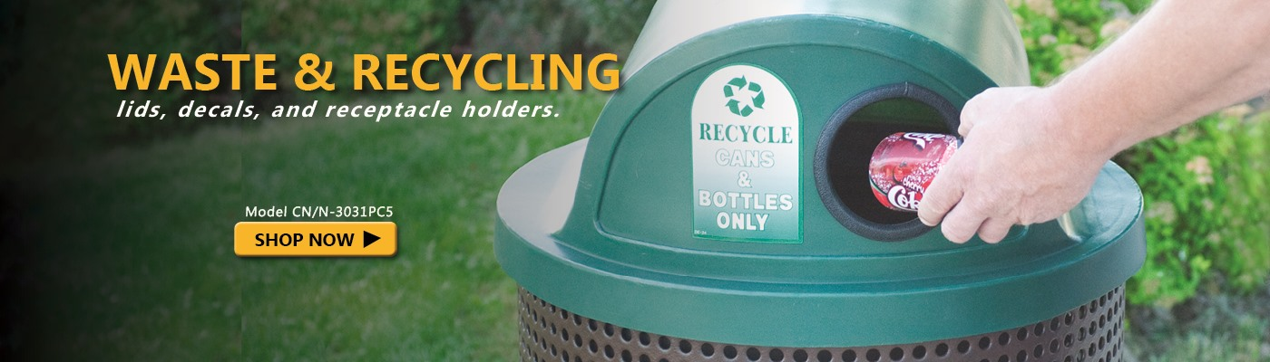 Click here to shop waste & recycling.