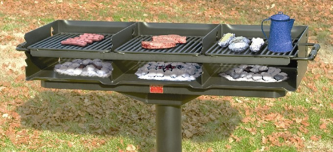 Model Q3-2460 B8 Large Group Grill