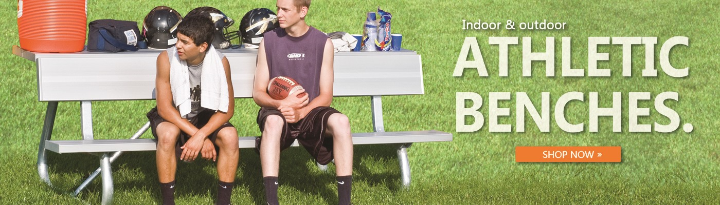 Shop athletic benches