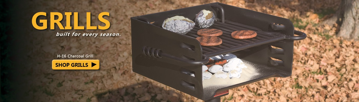 Learn more about the H-16 charcoal grill.