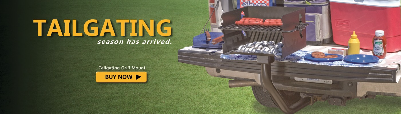Tailgating grill mount available to Buy Now!