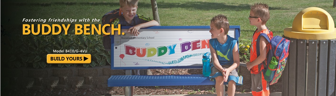 Build your own Buddy Bench