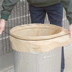 Band It Premium Elastic Trash Can Loop Trash Amp Recycling