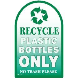 Model De 23 Decal Plastic Bottles Only Decal Trash