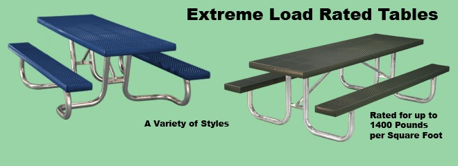 Extreme Load Tables, WXT and XT Series