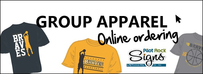 Group apparel online ordering