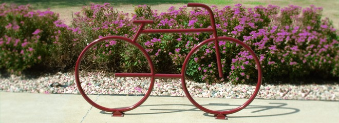 Steel Wheels Bike Racks