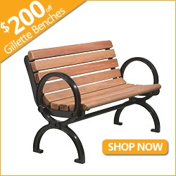 $200 off Gillette Benches