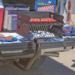 CBP-TGP1 Charcoal Grill Tailgating Post