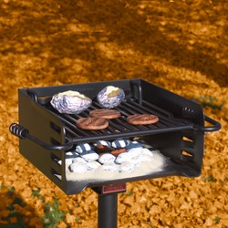 1. Regulary Clean Out All Charcoal And Wood Ash From The Grill Firebox  Bottom And From Inside The Firering.