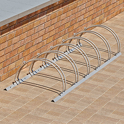 BR-6SS Bike Rack Drawing