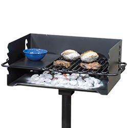 CBP-247 Backyard Grill with Hot Plate Grate
