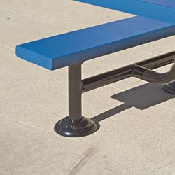 Cover Cap for Bench, Table, Bike Rack Posts and More.