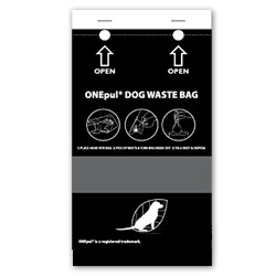 Refill Bags on a CARD for Pet Waste Collection Stations - #PWS-D021
