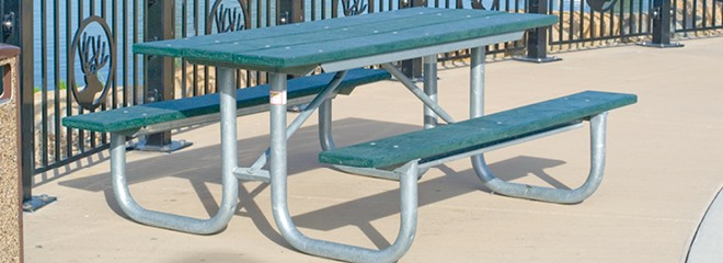 Picnic Tables Series Pilot Rock - Commercial picnic table frames