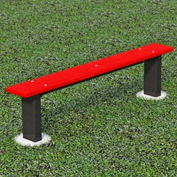 Athletic Bench - APB Series - Using 100% Recycled Plastic