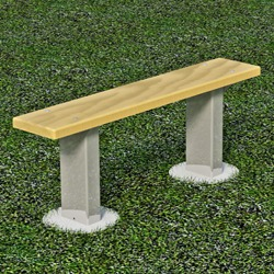Athletic Bench - APB Series - Using Lumber