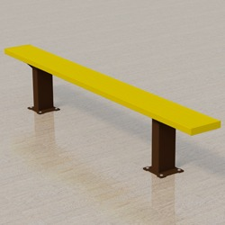Athletic Bench - APB Series - Using Aluminum