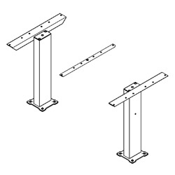 Frame Only Kits for Utility Tables