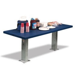 Snow Load/Extreme Load Full Size Pedestal Utility Table - APTX Series