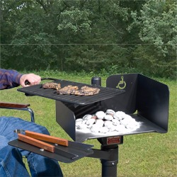 Accessible Charcoal Grill - ASW and ASWS Series