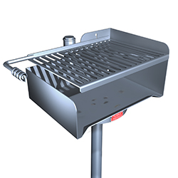 ASWS-20 Series Accessible Grill - Stainless Steel