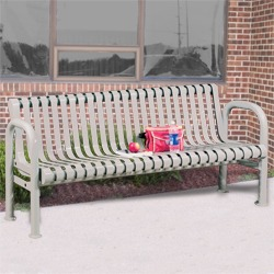 Riverview Bench - All Steel Contour Seats
