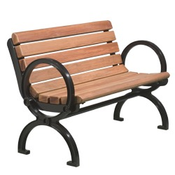Gillette Series Bench - Contour Seat