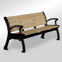 Park Avenue Bench - Backrest Bench