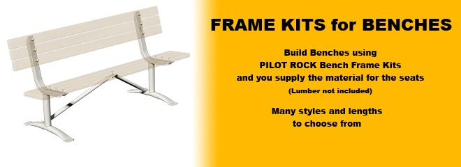 Bench Frame Kits - Just Add Lumber