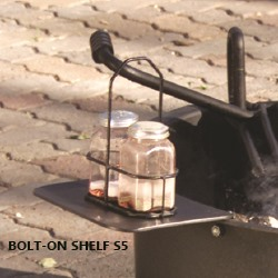 Bolt-on shelf S5