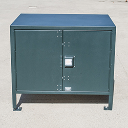 BPFL-30 Food Locker with Doors closed.