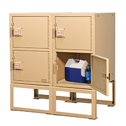 BPFL-T-18 Trail Side Locker 2 Units Speckled Tan Color