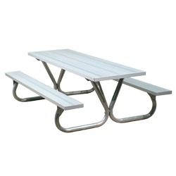 BTXG Series Lighter Duty Picnic Table - Using Aluminum