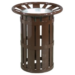 Round Ash Receptacles - Amherst Collection