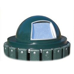 Lid - Round Steel Dome