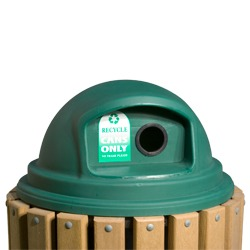 Lid - Plastic Dome For Recycling