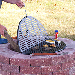 Foldable Cooking Grate for Backyard Firepits - DIG-R35