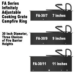 Three Heights for FA Series Firerings