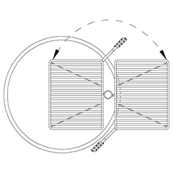 FSW Swivel Grate Diagram