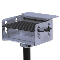 N/G-20 Galvanized Steel Charcoal Grill