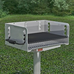 N/G-24 Galvanized Steel Charcoal Grill
