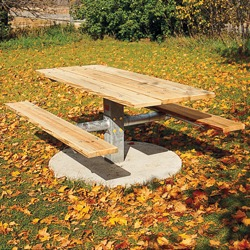 Single Pedestal Picnic Table - PT Series