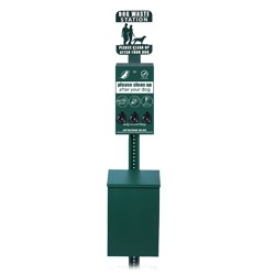 Pet Waste Collection Station - Pilot Rock Series