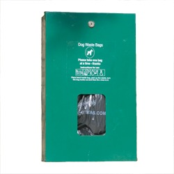 Pilot Rock Pet Waste Collection Station - Pet Waste Bags on a CARD Dispenser Only - #PWS-D019