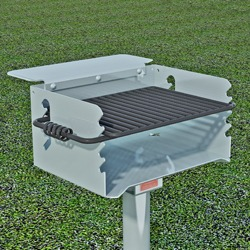 Q/G-20 Galvanized Steel Charcoal Grill