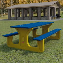 Recycled Plastic Picnic Table - RT Series