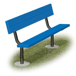 Channel Park Bench - Using Aluminum