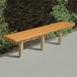 Marvelous Trailside Bench Multi Pedestal Pilot Rock Rj Thomas Forskolin Free Trial Chair Design Images Forskolin Free Trialorg