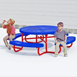 Kid's Round Picnic Table - T104K Series